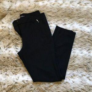 New York & Company Black Straight Leg Pants - 8
